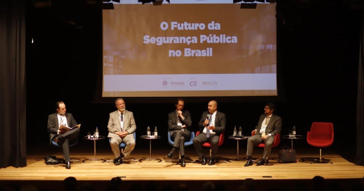 Confira a cobertura completa do evento O Futuro da Segurança Pública no Brasil