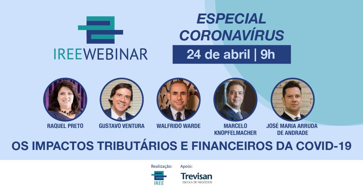 Os impactos tributários e financeiros da Covid-19