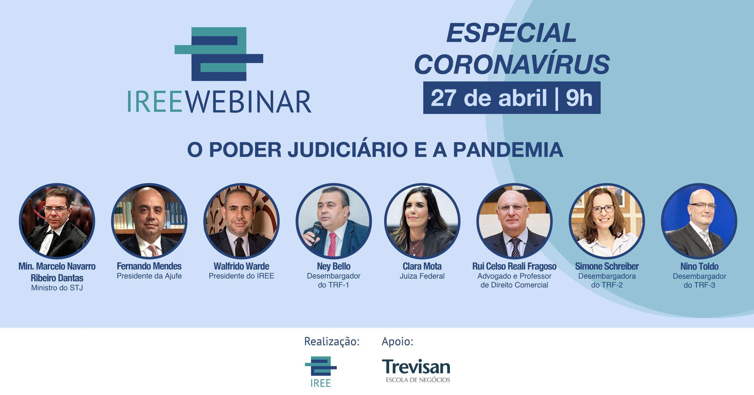 IREE Webinar – Poder Judiciário e a pandemia