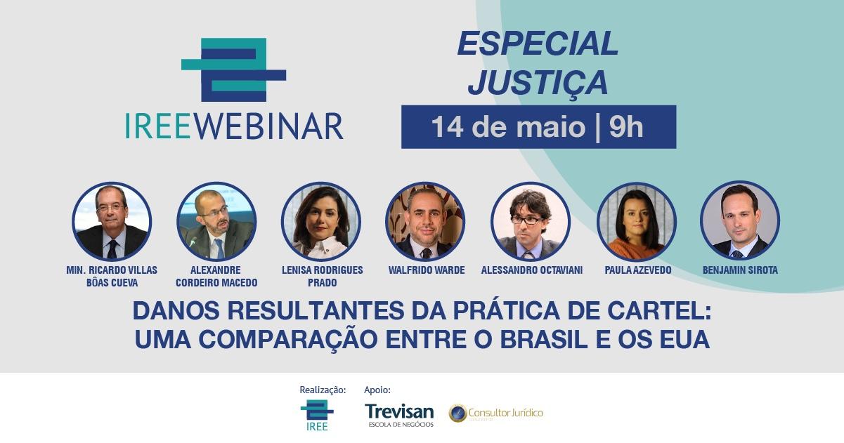 Danos resultantes da prática de cartel: Uma comparação entre o Brasil e os EUA