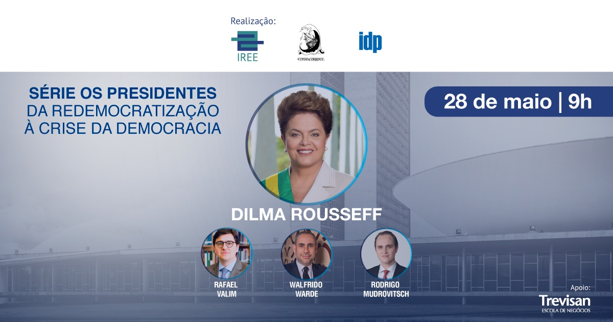 Da Redemocratização à Crise da Democracia – com Dilma Rousseff