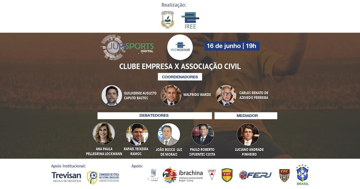 Especial Direito Desportivo – Clube Empresa x Associação Civil