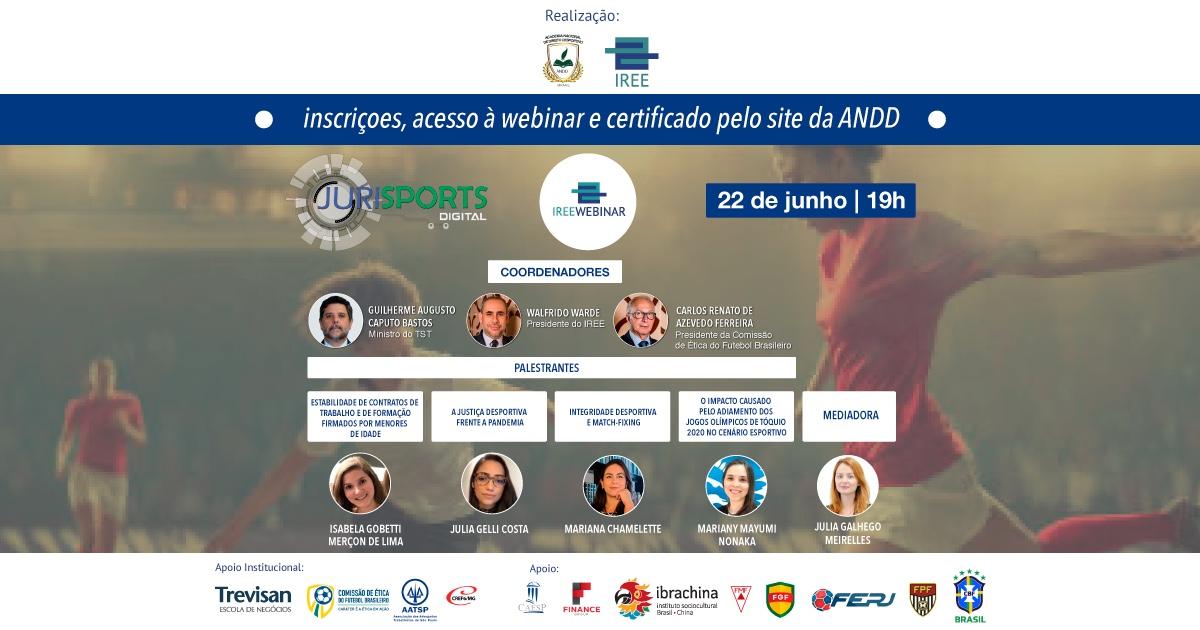 IREE Webinar Especial Direito Desportivo – sétima edição