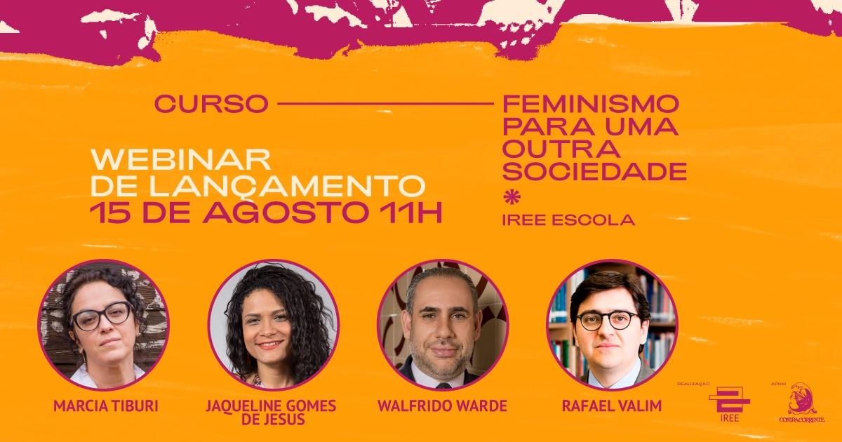 Vem aí: Feminismo para uma outra sociedade