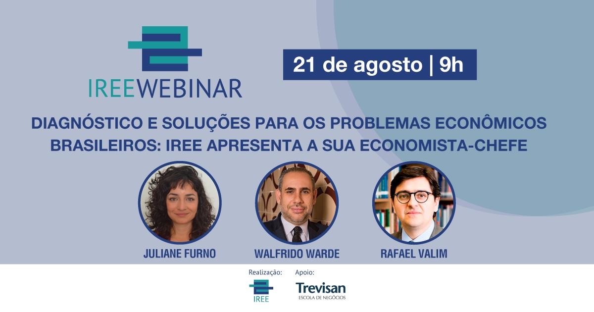 IREE Webinar: O instituto apresenta a sua Economista-Chefe