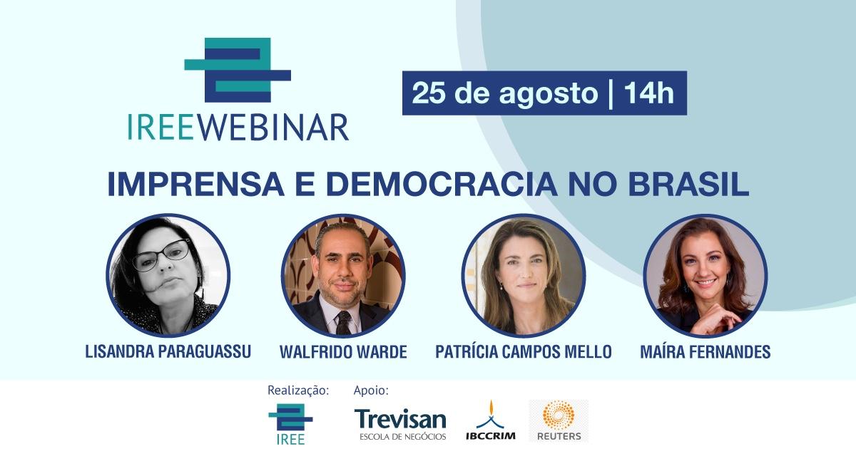 IREE Webinar – Imprensa e Democracia no Brasil