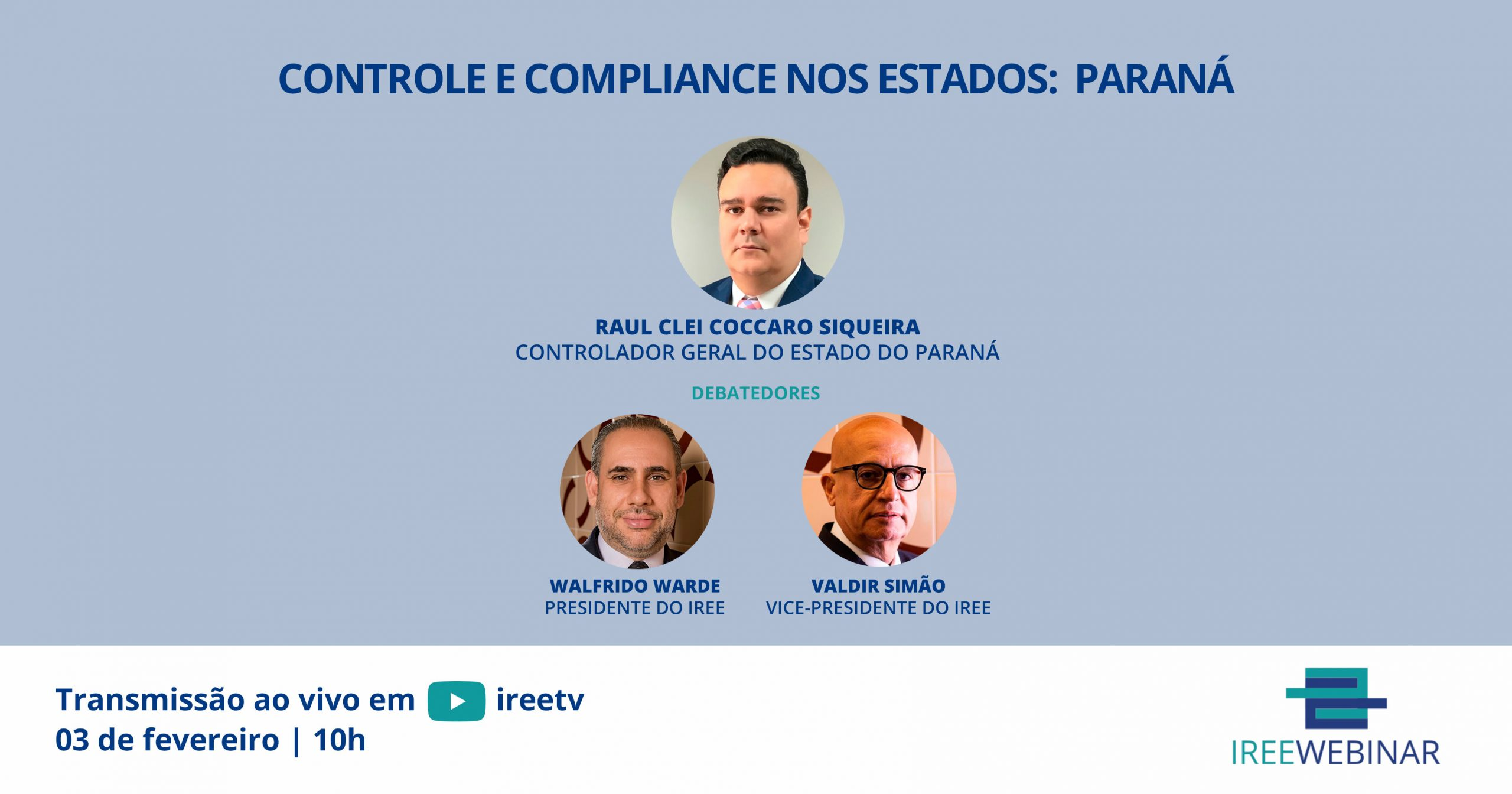 IREE Webinar – Compliance no Estado do Paraná