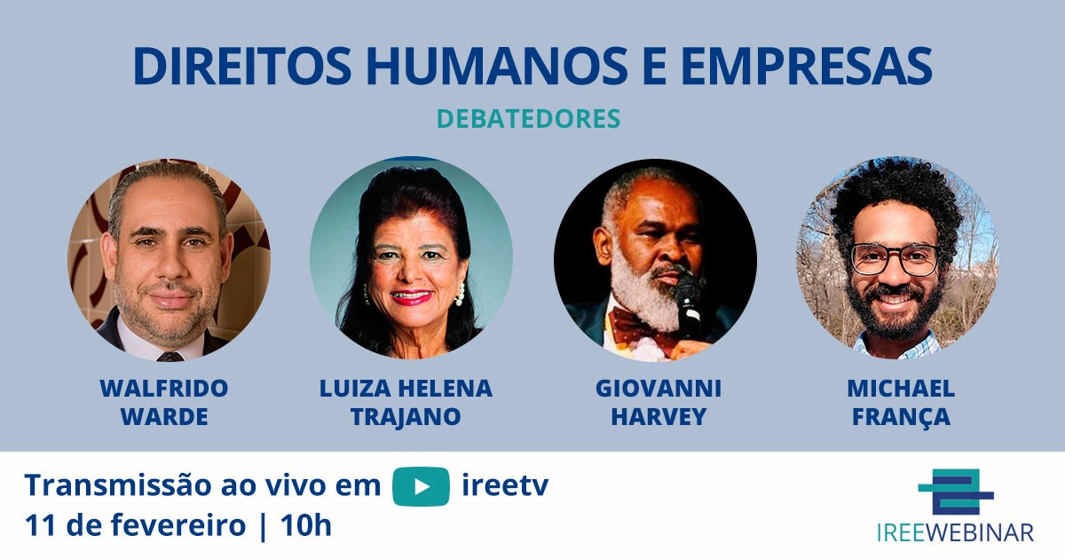IREE Webinar: Direitos Humanos e Empresas