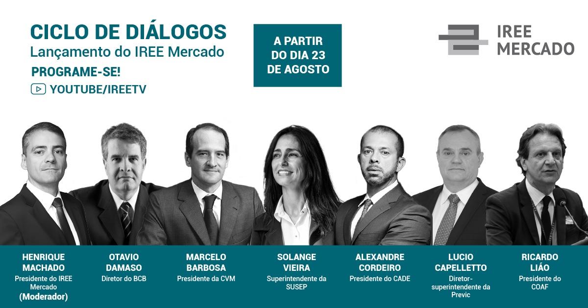 IREE Mercado estreia e reúne grandes autoridades em ciclo de diálogos